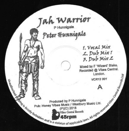 Peter Hunnigale - Jah Warrior (Vibes Central Music) 12""
